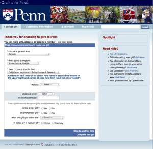 4022-Penn Donation Page